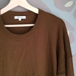 Madewell crewneck wool blend sweater